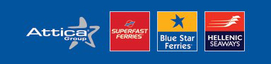 Attica Group : Superfast Ferries, Blue star ferries, Hellenic Seaways